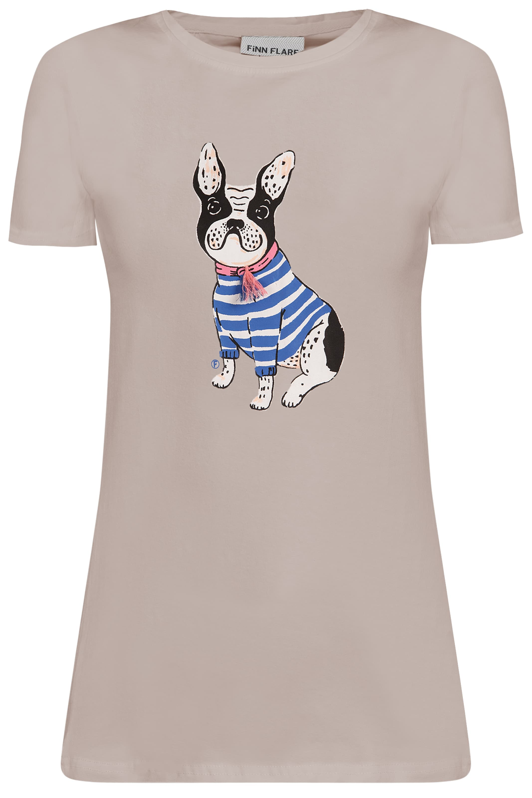 CamelMischfarben Finn shirt Flare T In shtQdrCx