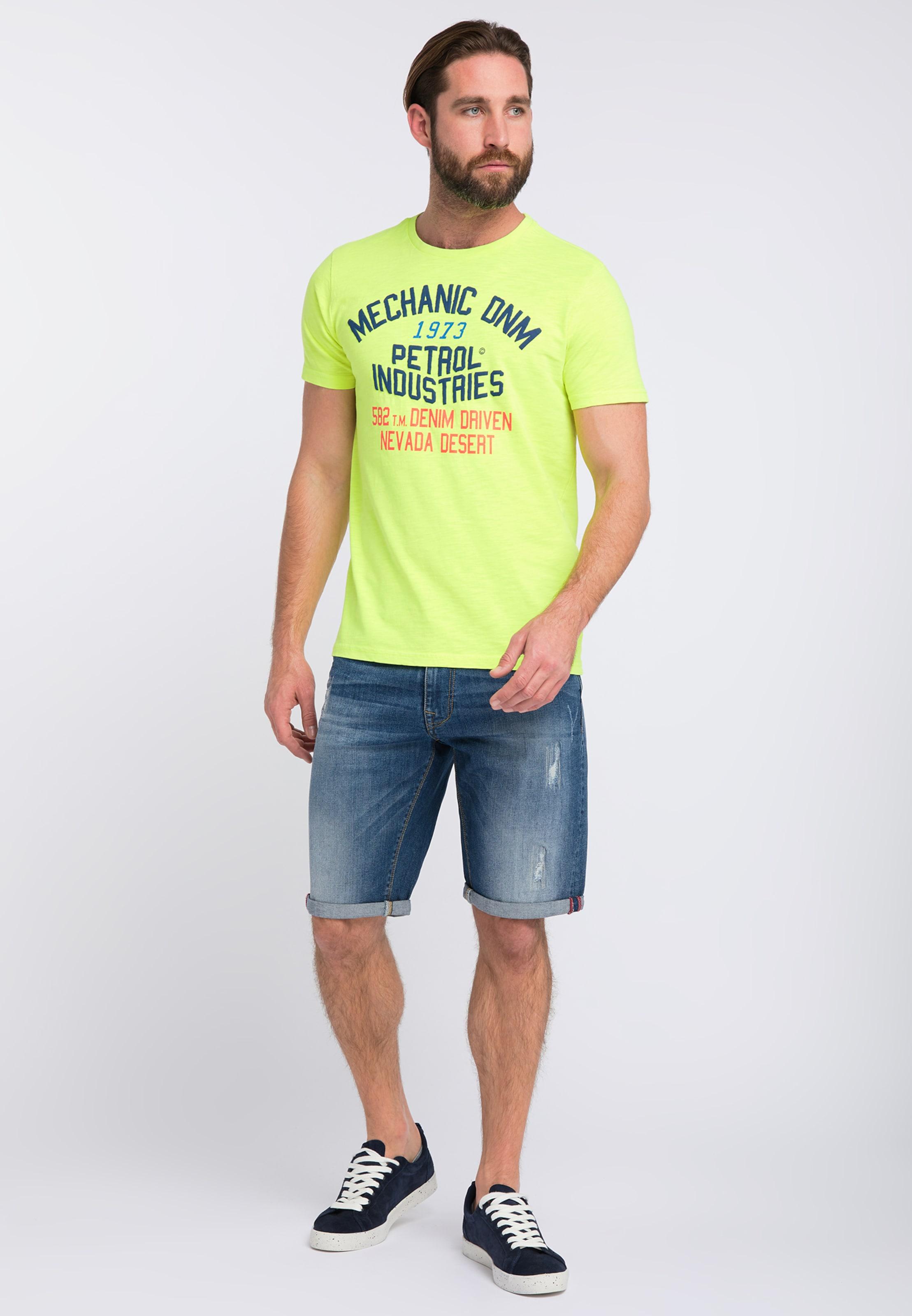 T GelbMischfarben In Petrol Industries shirt mNOw8nv0