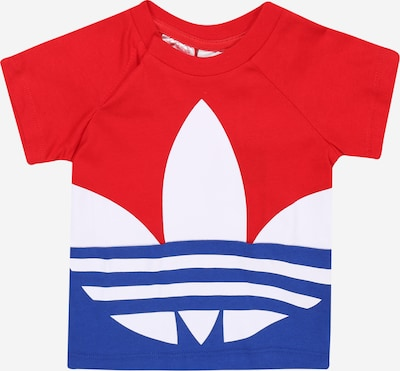 ADIDAS ORIGINALS Shirt 'BIG TREFOIL TEE' in rot, Produktansicht