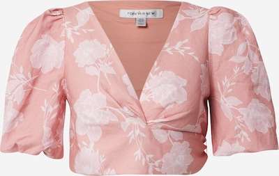 Forever New Bluse in rosa / weiß, Produktansicht