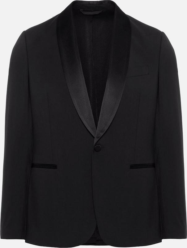 J.Lindeberg 'Savile Tux Comfort' Woll Blazer in schwarz  Großer Rabatt