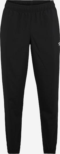 Pantaloni sport REEBOK pe negru, Vizualizare produs