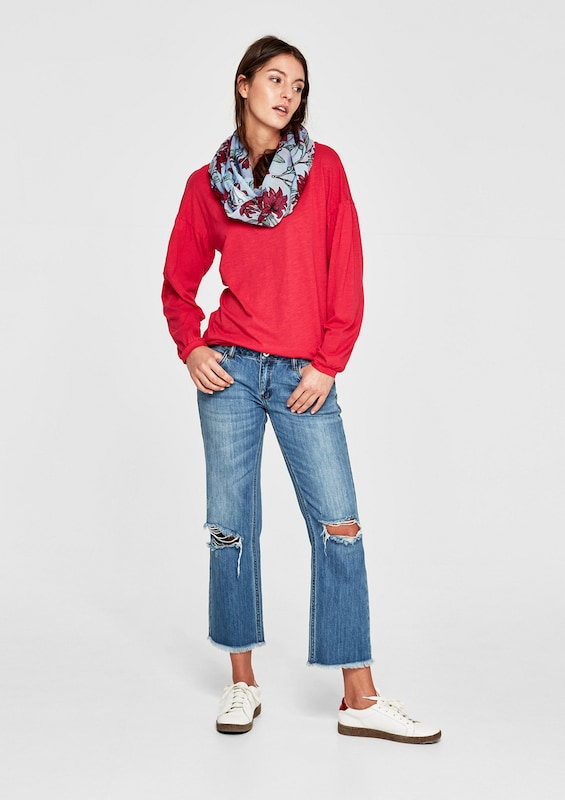 s.Oliver RED LABEL Leichter Loop mit Print