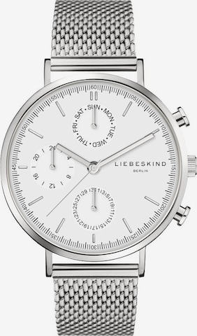 Liebeskind Berlin Analog Watch in Silver