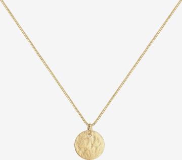 ELLI Necklace 'Plättchen, Vintage' in Gold