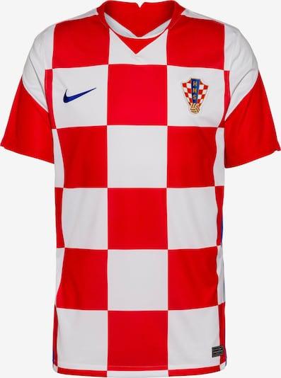 NIKE Fußballtrikot 'Kroatien 2021' in blau / gold / hellrot / offwhite, Produktansicht