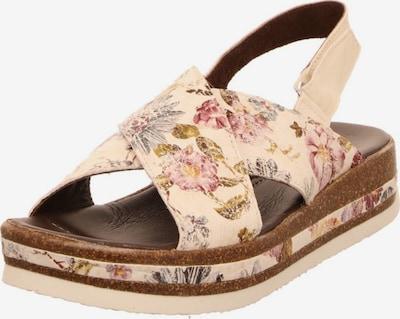 THINK! Sandalen in mischfarben / puder, Produktansicht