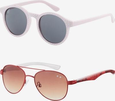 NAME IT Zonnebril in de kleur Grijs / Rood, Productweergave