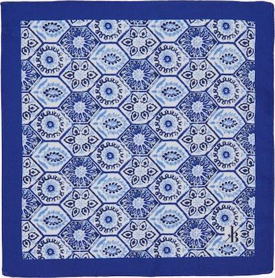 Jacques Britt Einstecktuch in blau / opal / weiß, Produktansicht