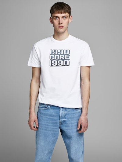 JACK & JONES Shirt in de kleur Wit: Vooraanzicht