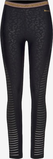 BENCH Leggings in gold / schwarz, Produktansicht