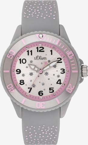 s.Oliver Uhr 'SO-3923-PQ' in Grau