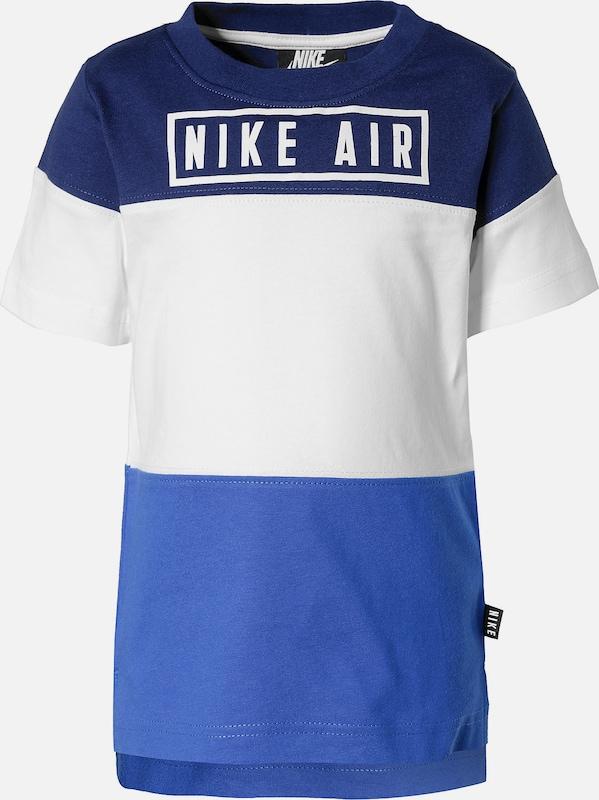 Nike Sportswear T Shirt 'Air' in blau navy weiß | ABOUT YOU
