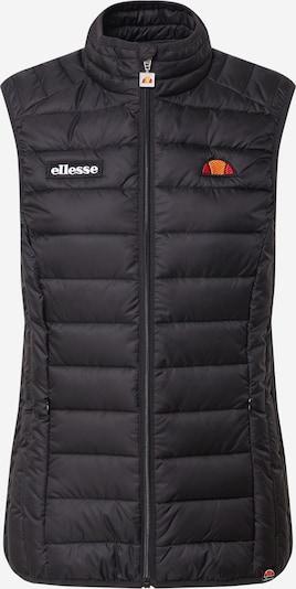 ELLESSE Weste 'Baria' in schwarz, Produktansicht