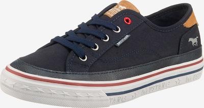 MUSTANG Sneakers Low in blau / gelb, Produktansicht