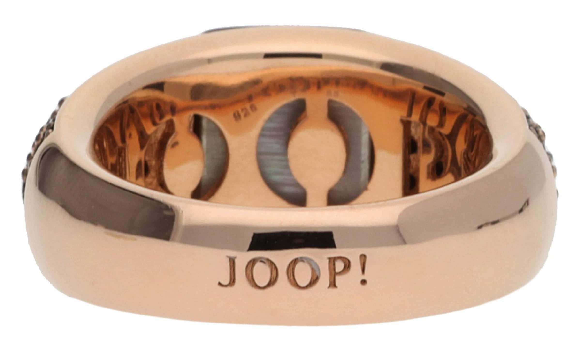 JOOP! Fingerring Silber Schwarz Naomi Billige Nicekicks Billige Breite Palette Von 2tnSgE4