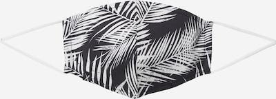 Iriedaily Stoffmaske 'FUNKY' in schwarz / weiß, Produktansicht