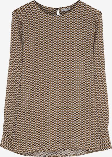 SEIDENSTICKER Bluse in dunkelblau / pfirsich / weiß, Produktansicht