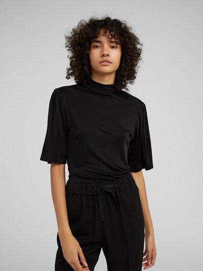 Marškinėliai 'Kada' iš EDITED , spalva - juoda, Modelio vaizdas