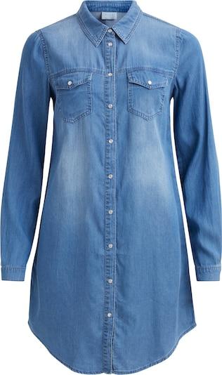 VILA Blousejurk in de kleur Blauw denim, Productweergave