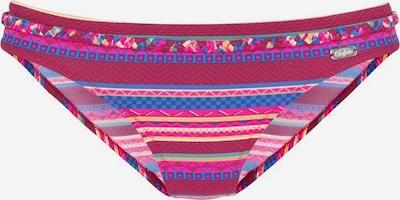 BUFFALO Bikinihose in blau / fuchsia / bordeaux, Produktansicht