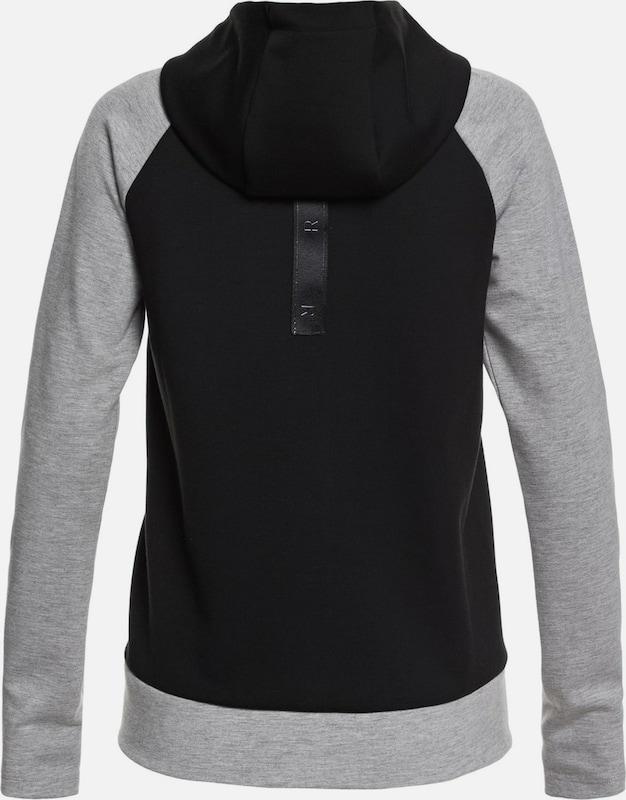 ROXY By Here By Now Kapuzenpullover Kapuzenpullover Kapuzenpullover in grau   schwarz  Freizeit, schlank, schlank 945180