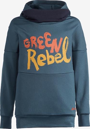 VAUDE Sweatshirt 'Awilix' in taubenblau / orange / orangerot, Produktansicht