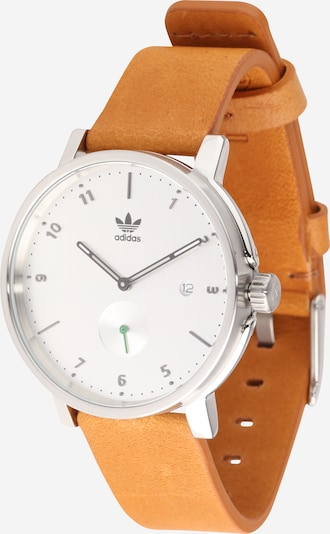 ADIDAS ORIGINALS Armbanduhr 'District_LX2' in braun / silber, Produktansicht