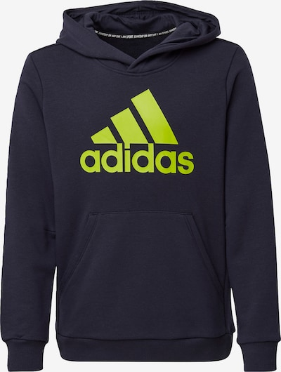 ADIDAS PERFORMANCE Sweatshirt 'Must Have' in dunkelblau / neongelb, Produktansicht