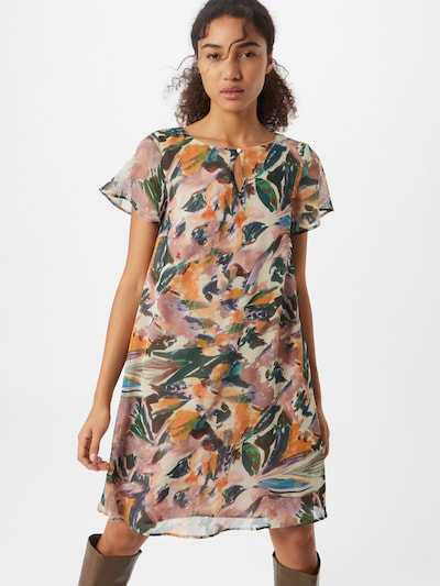 MORE & MORE Kleid in mauve / mischfarben, Modelansicht
