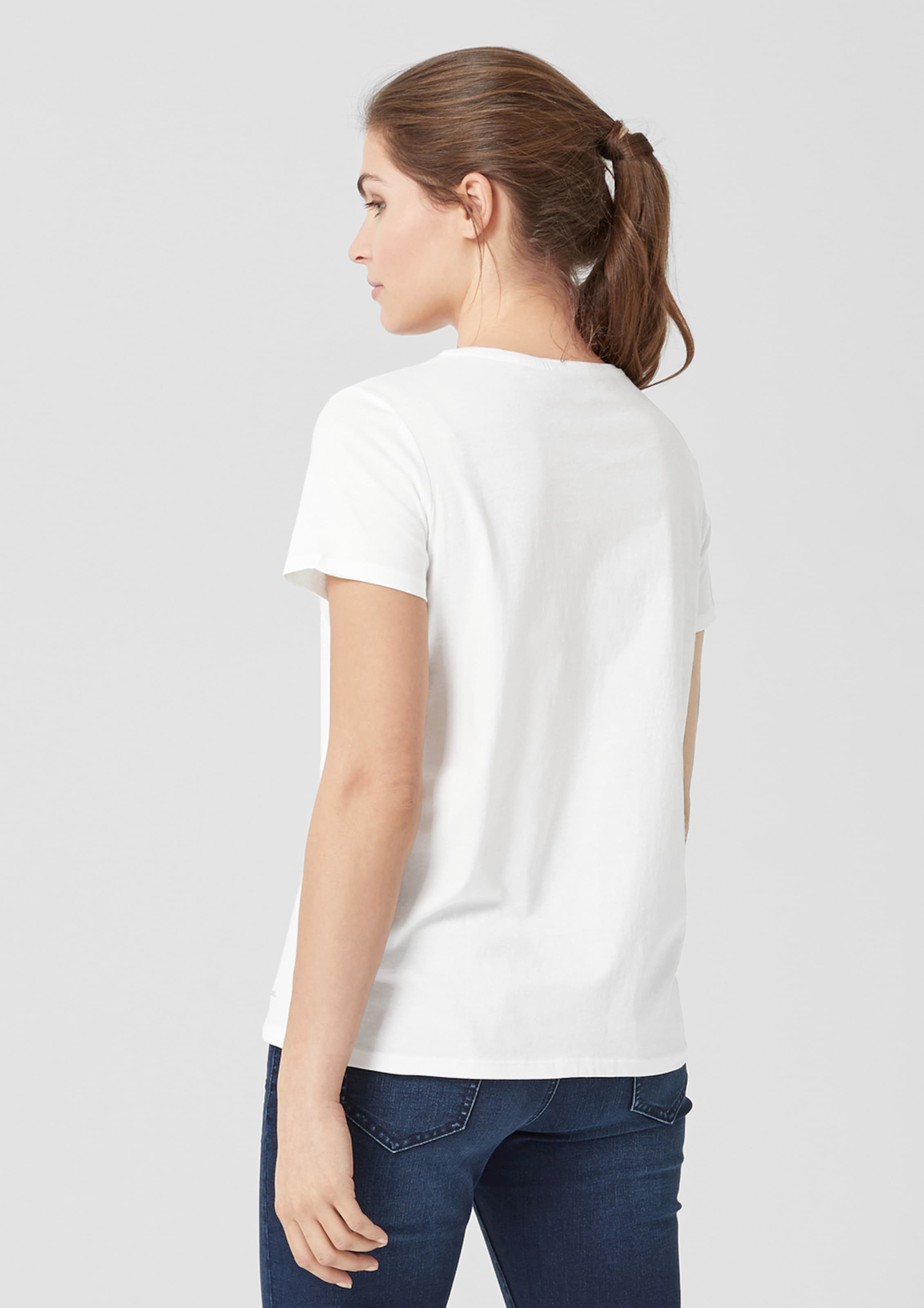 Triangle T En Blanc shirt Triangle T qSUGzVMp