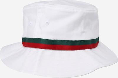Flexfit Hut in grün / rot / weiß, Produktansicht