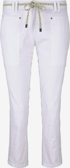 TOM TAILOR Hosen & Chino Tapered Relaxed Hose mit Bandgürtel in weiß XuWJBkwr