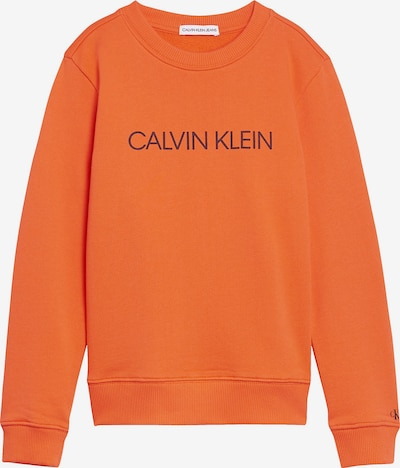 Calvin Klein Jeans Sweatshirt in orange / bordeaux, Produktansicht