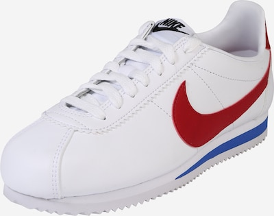 Nike Sportswear Buty sportowe 'Classic Cortez' w kolorze niebieski / czerwony / białym, Podgląd produktu