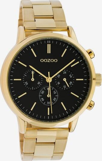 OOZOO Uhr 'C10548' in gold / schwarz, Produktansicht