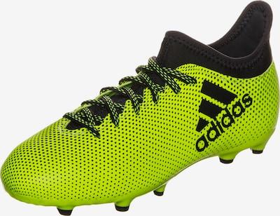 ADIDAS PERFORMANCE Fußballschuh 'X 17.3' in neongelb / schwarz, Produktansicht