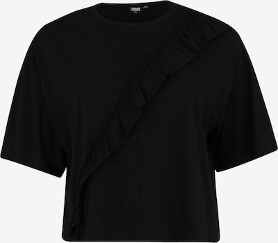 Tricou Urban Classics Curvy pe negru, Vizualizare produs