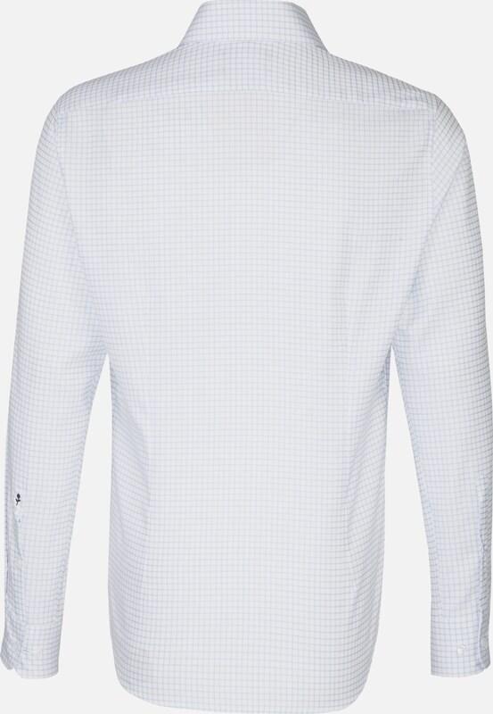 SEIDENSTICKER Hemd 'TailGoldt' in hellblau     weiß  Freizeit, schlank, schlank 596450