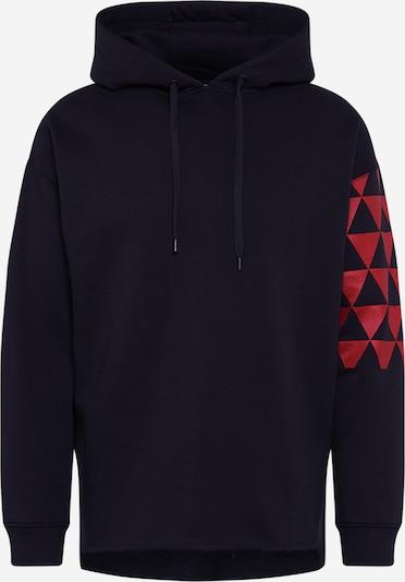 BE EDGY Sweatshirt  'BEadrian' in schwarz, Produktansicht