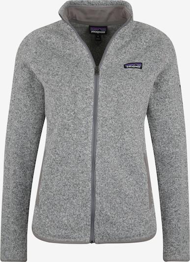 PATAGONIA Sporta jaka ar kapuci 'W's Better Sweater Jkt' pieejami raibi pelēks, Preces skats