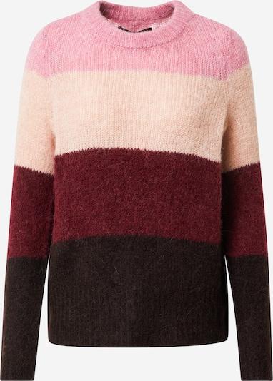VERO MODA Pullover in braun / pink / rosa / rot, Produktansicht