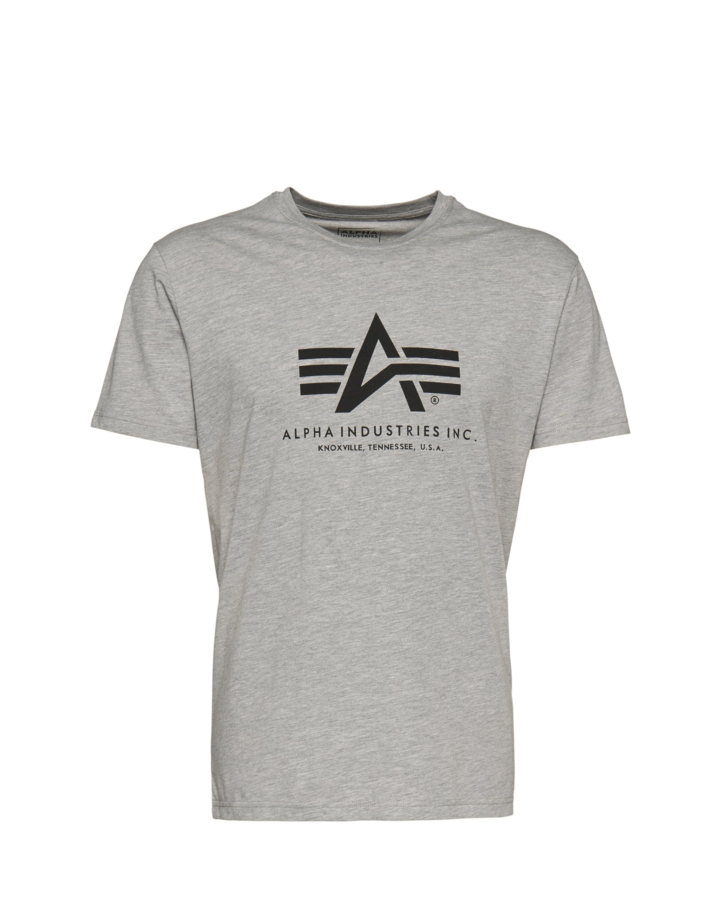 Alpha Gris T En Chiné shirt Industries c4Lq5j3RA
