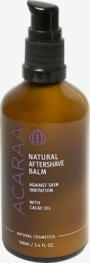 ACARAA Naturkosmetik After Shave Natural Aftershave Balm 100ml in braun, Produktansicht