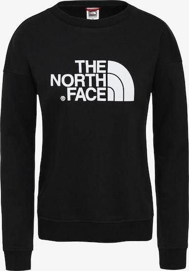 THE NORTH FACE Sweat de sport en noir / blanc, Vue avec produit