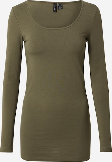 VERO MODA Shirt 'Maxi My' in khaki, Produktansicht