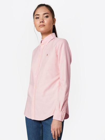 POLO RALPH LAUREN Bluzka w kolorze różowy pudrowym: Widok z przodu