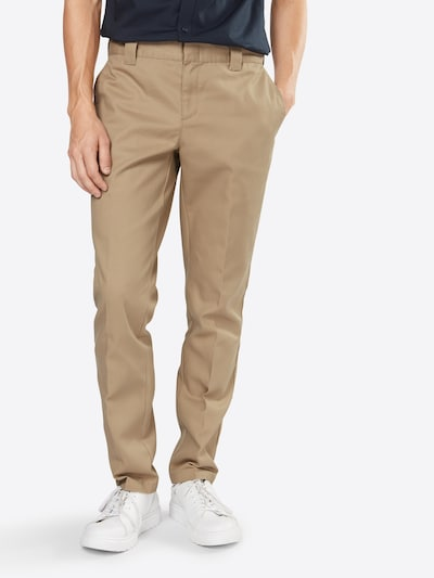 DICKIES Chino hlače 'WE872' u bež, Prikaz modela