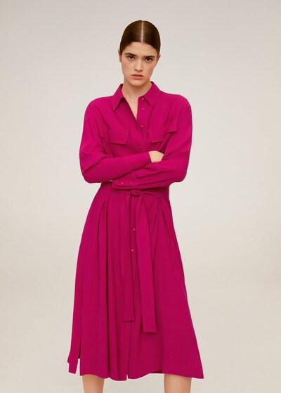 MANGO Kleid 'Elea' in fuchsia, Modelansicht