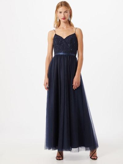 Laona Kleid in dunkelblau, Modelansicht